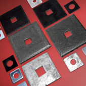 square plate washers ... : square plate washer - pezcame.com